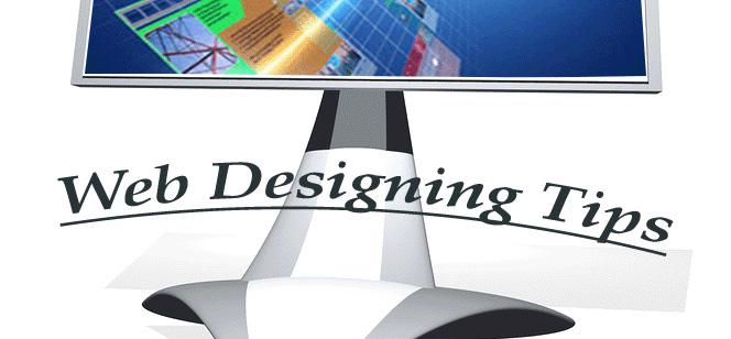 Web designing tips
