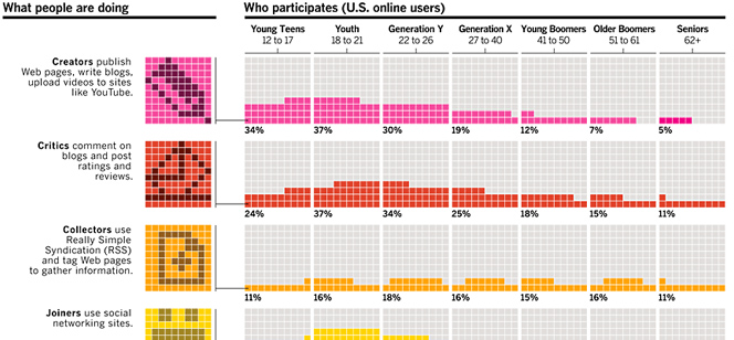 Web Audience Age Demographics