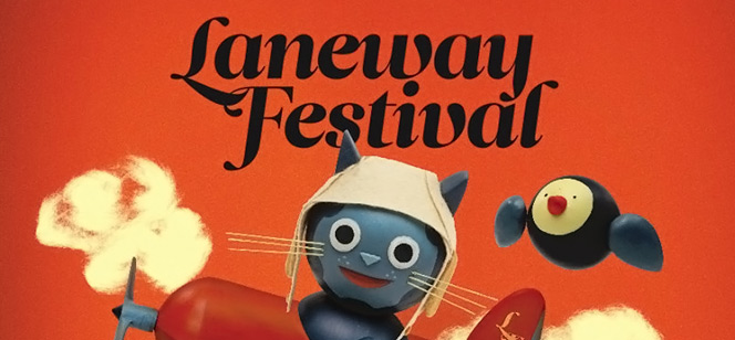 Laneway Music Festival Website